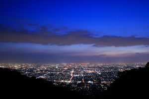 生駒の夜景