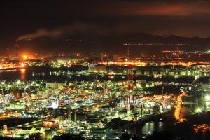 鷲羽山からの夜景